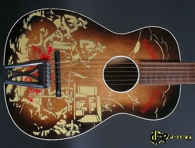 "1950 Harmony ""Singing Cowboys""  H1057  -  Sunburst   (Made in USA)"