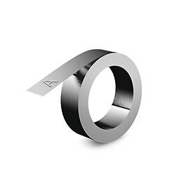 NEW! Dymo 32500 12mm Stainless Steel Non Adhesive Embossing Tape