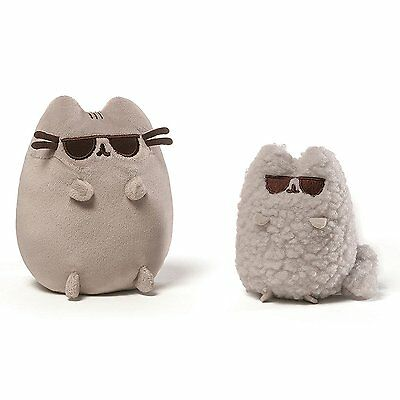 """Pusheen and Stormy 8.5"""" Plush Collector Set: Sunglasses"""