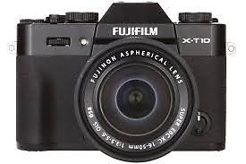 Fujifilm X-T10 + 16-50mm II Digital Compact System Camera - Black