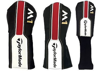 New - TaylorMade Golf 2016 M1 Driver, Fairway Hybrid/Rescue Headcovers - Covers