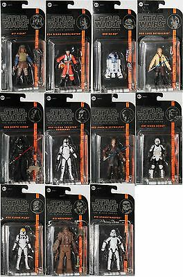 STAR WARS -THE BLACK figuras de acción de serie-.Hasbro-OVP - elegir