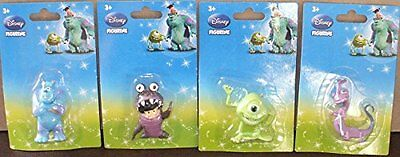 Disney / Pixar Monsters Inc. Figurines / cake toppers Mike, Boo, Sulley, Randall