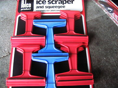 Job lot of 88 Car ice scraper and squeegee, removes ice & condensation by Polco