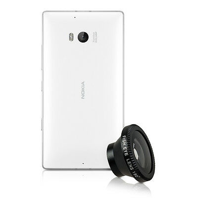 kwmobile MAGNETIC CAMERA LENS FOR NOKIA LUMIA 930 BLACK SMARTPHONE MOBILE