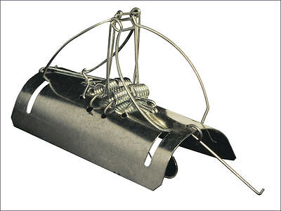12Pack Pest Stop Tunnel Barrel Type Mole Trap Galvanised Steel Rodent Quick Kill
