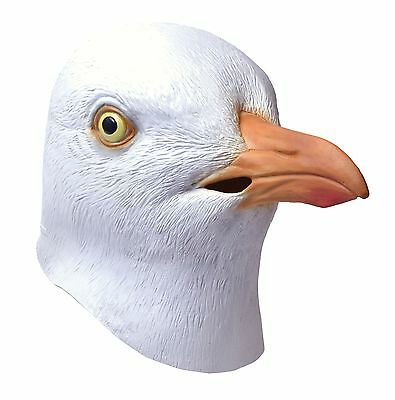 Animals & Nature Seagull Rubber Mask Adult Fancy Dress Accessory
