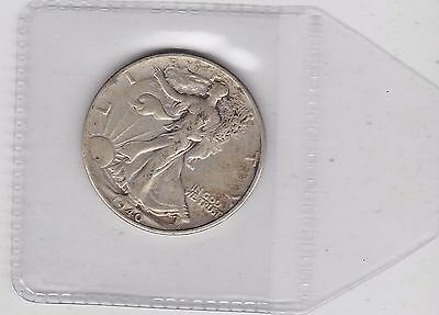 Usa 1940 Silver Half Dollar In A Used Good Fine Or Slightly Better Condition