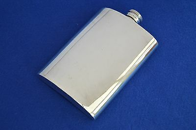 Vintage Silver Plate Mappin & Webb Hip Flask - Mappin Plate - Hip Flasks