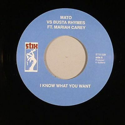 "MATO vs BUSTA RHYMES/DA BUSH BABEES - I Know What You Want - Vinyl (7"")"