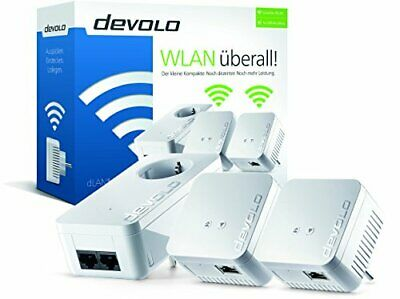 Devolo dLAN® 550 WiFi Network Kit Powerline (500 Mbit/s, 3 Adapter im Set)