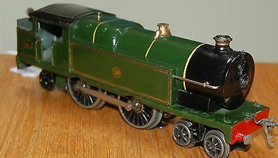 HORNBY SERIES O GAUGE ELECTRIC No 2 SPECIAL TANK LOCO IN GWR GREEN LIVERY