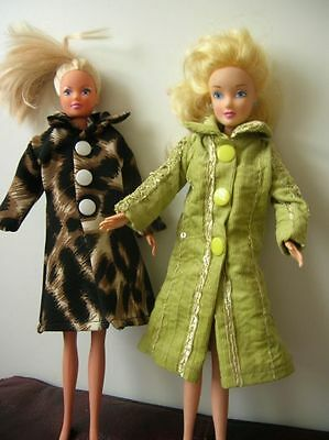 NEW!!! Handmade COATS- clothes BARBIE dolls and for Sindy,Steffi,Aurora - ArtADA