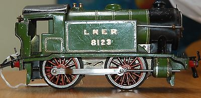 HORNBY SERIES O GAUGE CLOCKWORK No 1 SPECIAL TANK IN LNER GREEN LIVERY