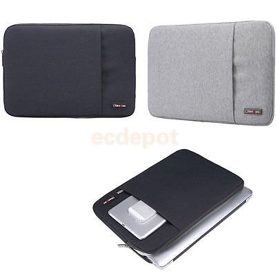 "Notebook Laptop Sleeve Case Bag Pouch 11"" 13"" 15 Inch For MacBook Air Pro Tablet"