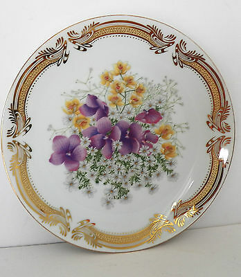 Excellent Decorative Designer Signed Saji Fine China Is This Outstanding Plate