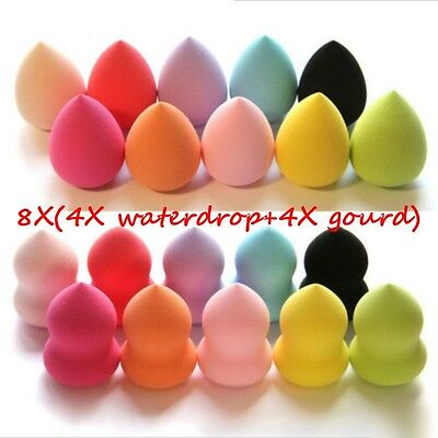 8X Makeup Foundation Sponge Blender Blending Puff Flawless Powder Smooth Beauty