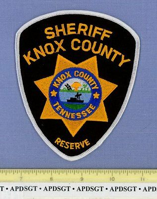 KNOX COUNTY SHERIFF ~ RESERVE ~ TENNESSEE TN Police Patch AUXILIARY