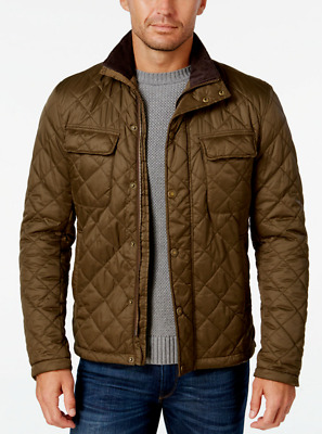 Barbour Men's Olive Green Laggan Quilted Jacket