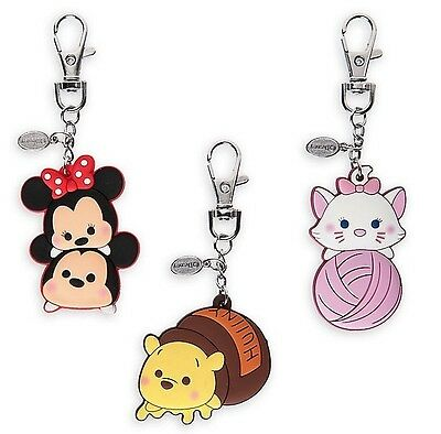 Disney Store Mickey Mouse And Friends Tsum Tsum Bag Charms New