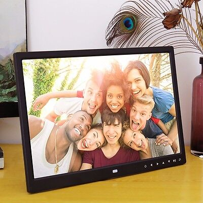 "7""/12""/15"" HD LCD Digital Photo Frame with Multimedia Playback With Touch Button"
