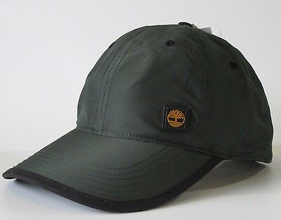 Mens Green Timberland Water Resistant Baseball Cap Caps SIZE Adjustable Hat Hats