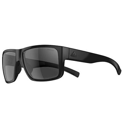 Adidas Eyewear Matic Sunglasses - Black Shiny (Grey Polarized Lenses)