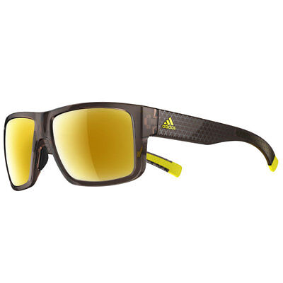 Adidas Eyewear Matic Sunglasses - Brown Shiny Triax (Gold Mirror Lenses)