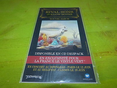 Rival Sons - Hollw Bones !!!!!!!!!plv!!!!!!rare French Promo Display!!!!