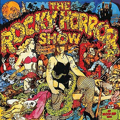 ROCKY HORROR SHOW RED VINYL 12 inch LP record SOUNDTRACK