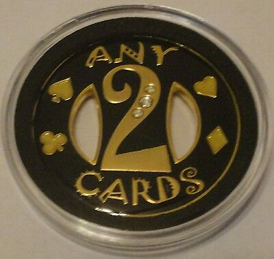 ANY 2 CARDS Spinner Poker Card Guard Cover Protector