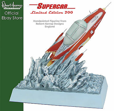 Supercar from Gerry Anderson Supermarionation Robert Harrop Figurine Ltd Ed SU01