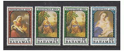 Bahamas - 1984 Christmas set inc. 31c with inverted wmk - MNH - SG 695/7 & 696w