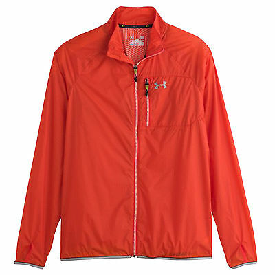 Under Armour Para Hombre Coldgear Infrared Correr Chrome Lite Chaqueta Xl - Ua
