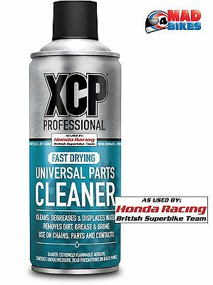 XCP Parts Cleaner Processional Quality Motorcyle Parts Cleaner Spray 400ml