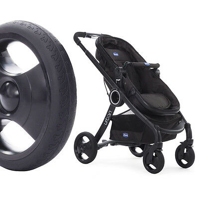 Chicco Urban PLUS *CROSSOVER* Convertible Stroller BLACK Chassis inkl Color Kit