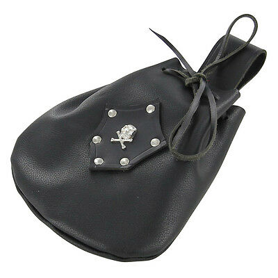 Leather Sea Rover Pirate Handmade Booty Treasure Pouch