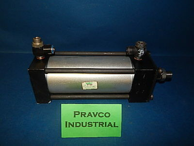 "Speedaire 6X396 Pneumatic Air Double Acting Cylinder 6""Stroke 3-1/4"" (3.25)Bore"