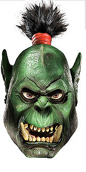 World Of Warcraft Orc Overhead Latex Costume Mask