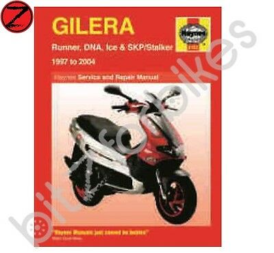 Haynes Motorcycle Manual Gilera Runner 50 125 180 200 DNA 50 125 180 SK