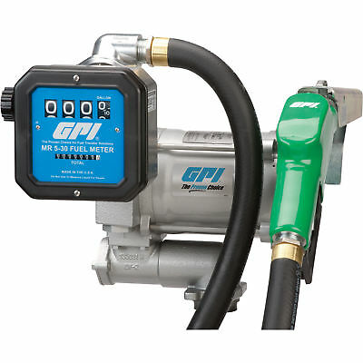 GPI 115V Fuel Transfer Pump with Meter - 20 GPM