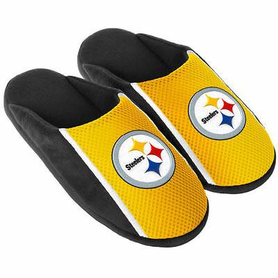 Pair Pittsburgh Steelers Jersey Slide Slippers - Team Color House shoes JRS16