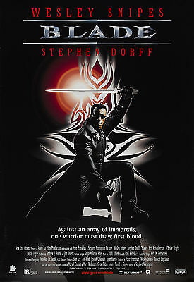 Blade Laminated Mini Movie A4 Poster Wesley Snipes
