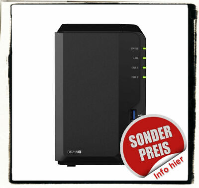 Synology DS216+II RAID NAS Server + HDD Bundle WD Red Seagate Toshiba uvm.