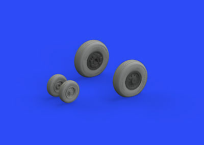 EDUARD BRASSIN 648304 Wheels for Tamiya Kit F-14A Early in 1:48