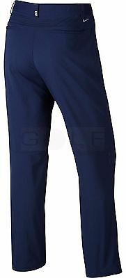 NWT NIKE GOLF TIGER WOODS TW Adaptive Fit Woven Pant 726220 Navy Blue 34 x 30