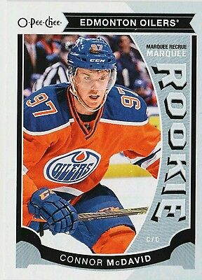 Connor Mcdavid Rc 2015-16 Upper Deck O-Pee-Chee Update Marquee Rookie Opc Oilers