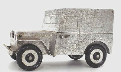 Vintage Armored Jeep Table Lighter Germany