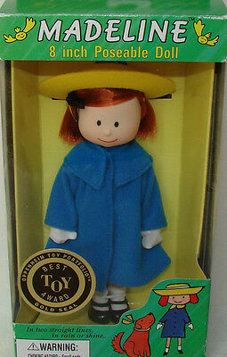 """Madeline 7 1/2"""" - 8"""" Doll School Outfit Curved Hand NEW Gold Seal Best Toy Award"""