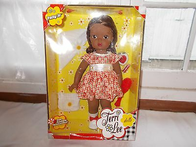 MIB 2004 Terri Lee Black Patty Jo Doll Minty + Accessories 15""